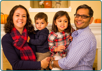 Dr. Sanjeev Jay Dhamija, DDS and Family
